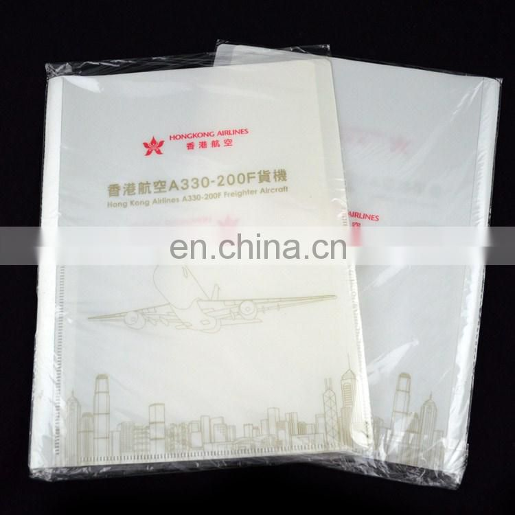 Custom plastic promotional presentation folder printing