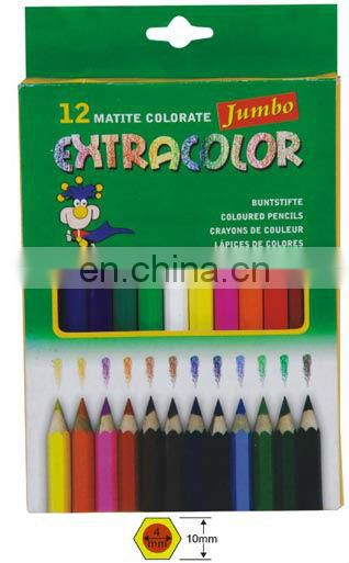 7/3.5 Inch 12 pcs wooden color pencil