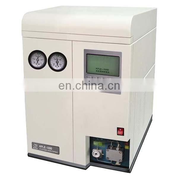 APLE-1000 Accelerated solvent extraction apparatus