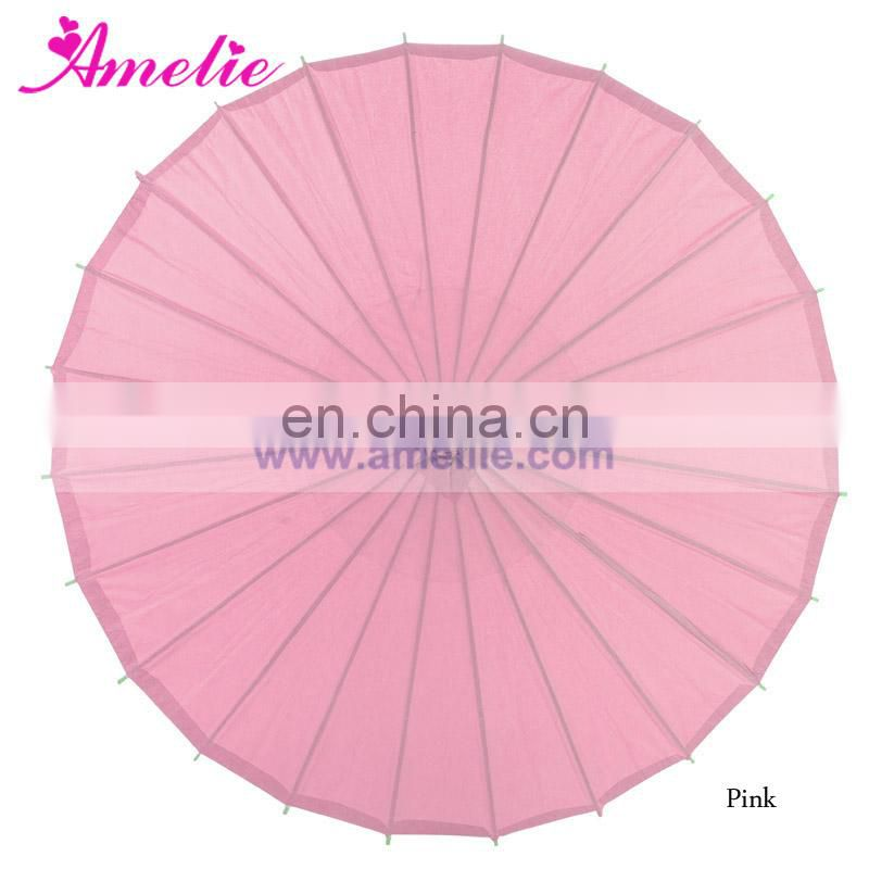 Chinese Japanese Paer Umbrella Parasols 32inches