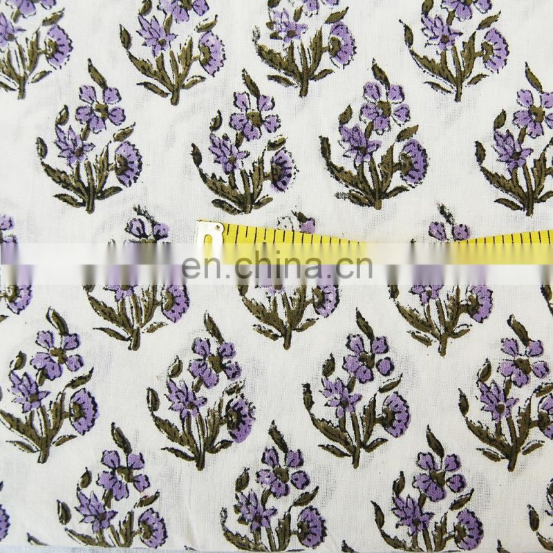 Indian Pure Cotton Fabric , Natural Dyed African fabric