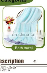Promotional custom microfiber black salon hair towel