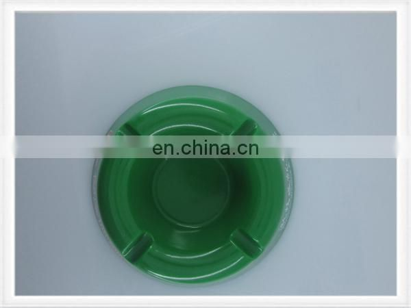 Pocket ashtray plastic ashtray metal ashtray in round shape white color