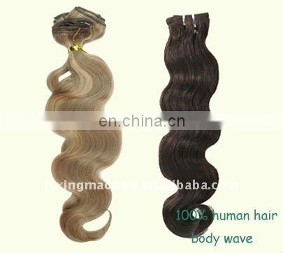 Top Quality Ombre Hair Grade 5A 100% Remy Human Hair Extension Indian Hair
