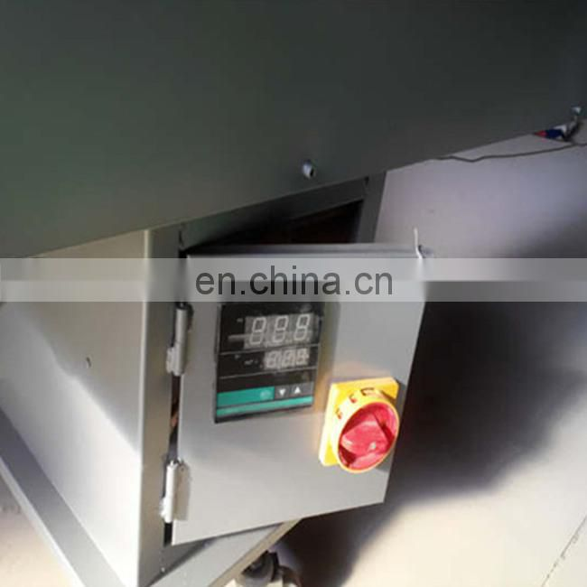 Arc plastic window processing machine