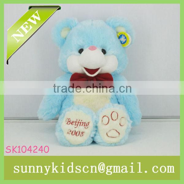 2014 HOT selling sale stuffed toy plush pink bear for plush toys