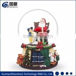 Standing Resin Santa clause figurines
