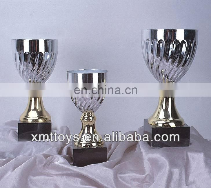 sports gold plate metal trophy cup