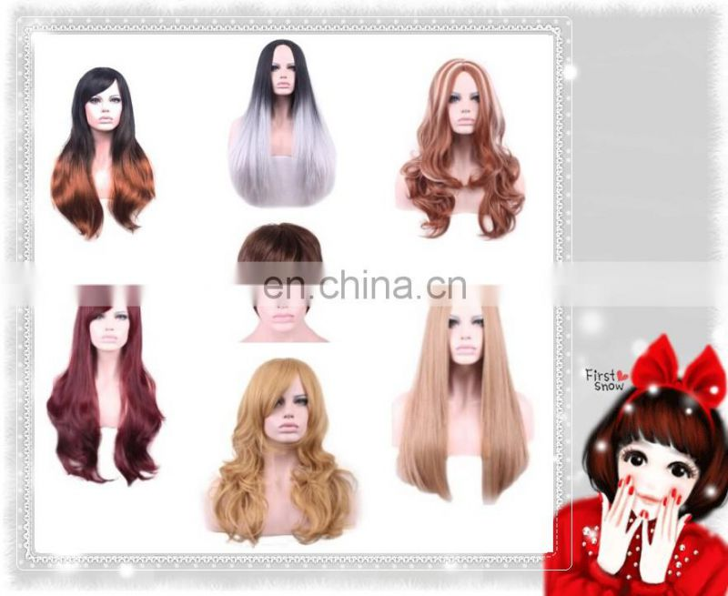 Factory Direct Sale Cheap Straight Glueless Silk Top Full Lace Wig
