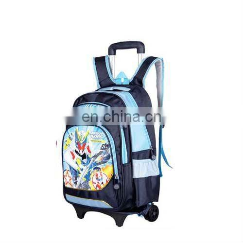 kids cute trolley school bag with beautiful pictures