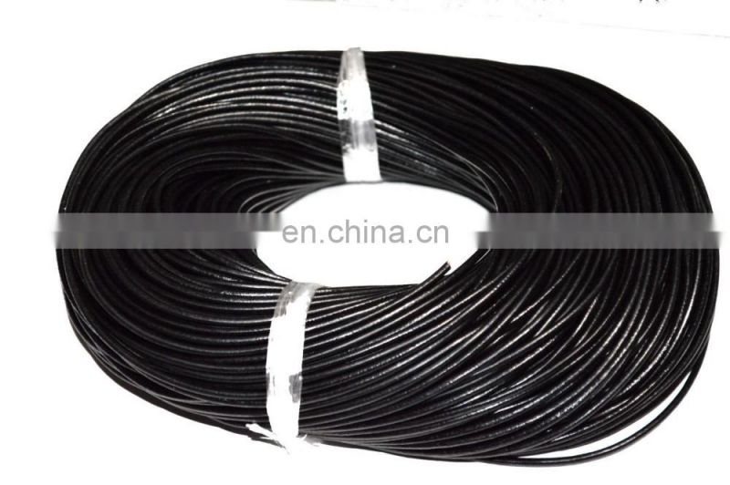 Black Rubber Necklace Cord For Pendants Charms
