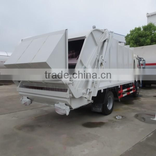 120hp DONGFENG 4*2 Waste Compactor Truck 6 m3
