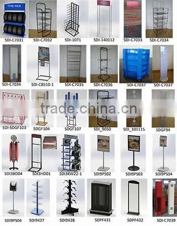 12 hooks Display stand for kitchen ware
