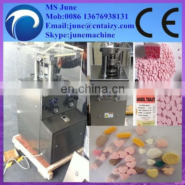 6 punches tablet press / tablet press machine