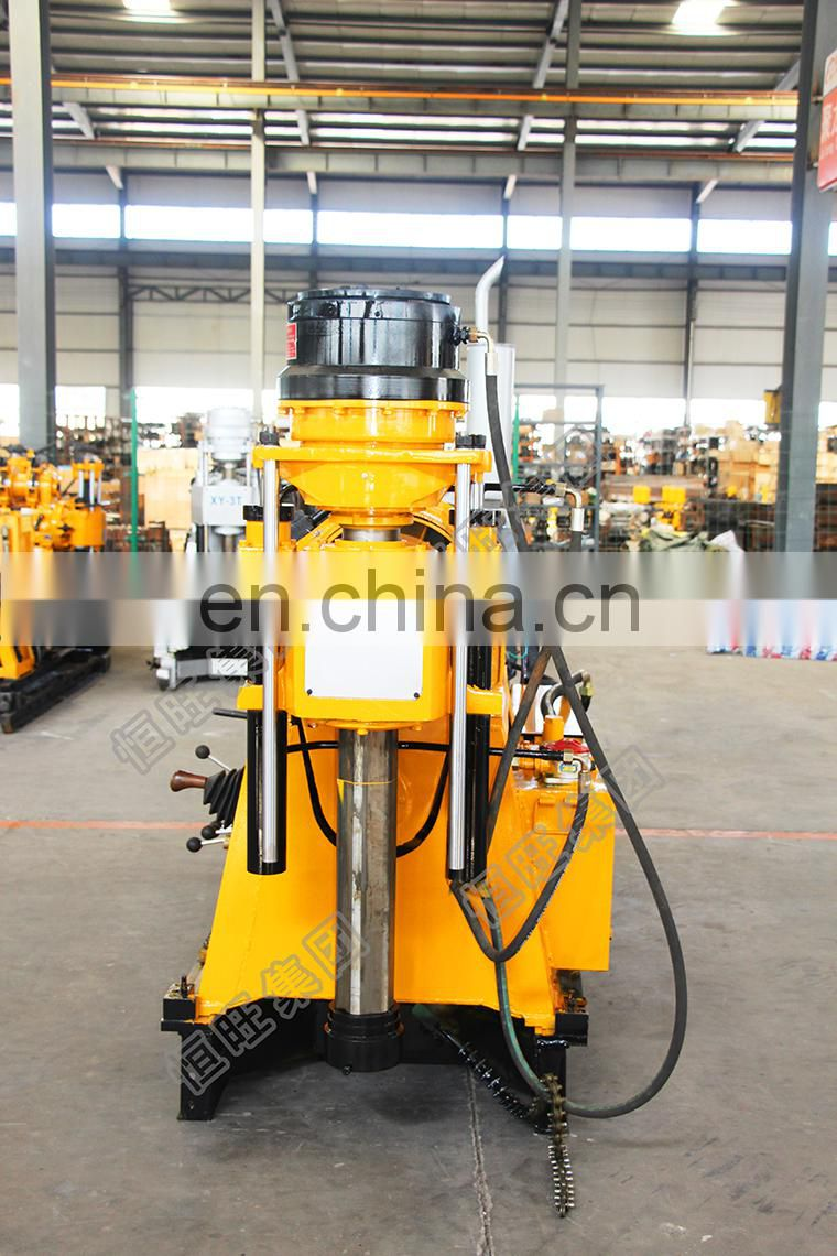 Top drive XY-3 Rotary head portable water well drilling rig