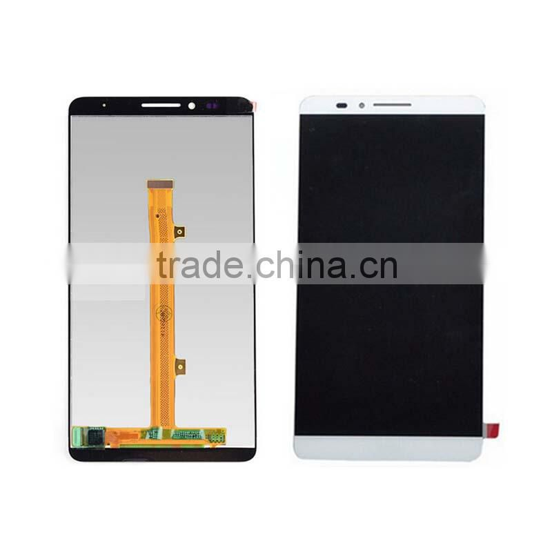 White LCD Display With Touch Screen Digitizer Glass for huawei mate 7 touch screen with lcd assembly
