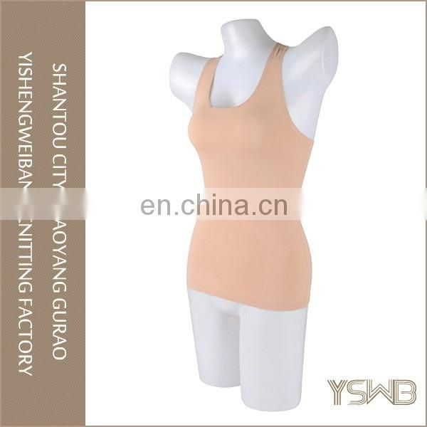 High quality fashion lady cotton elastic breathable tight camisole