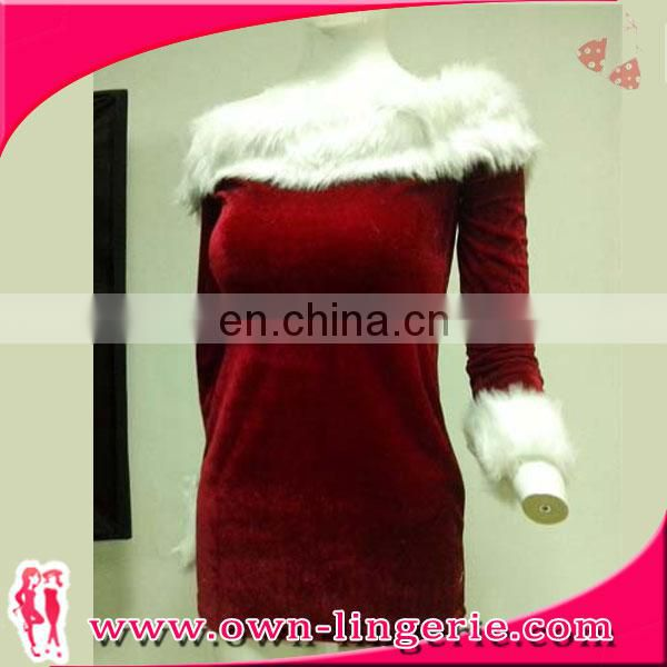 Sexy hot red girl xmas party dresses