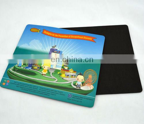 customised design pvc eva mouse pad