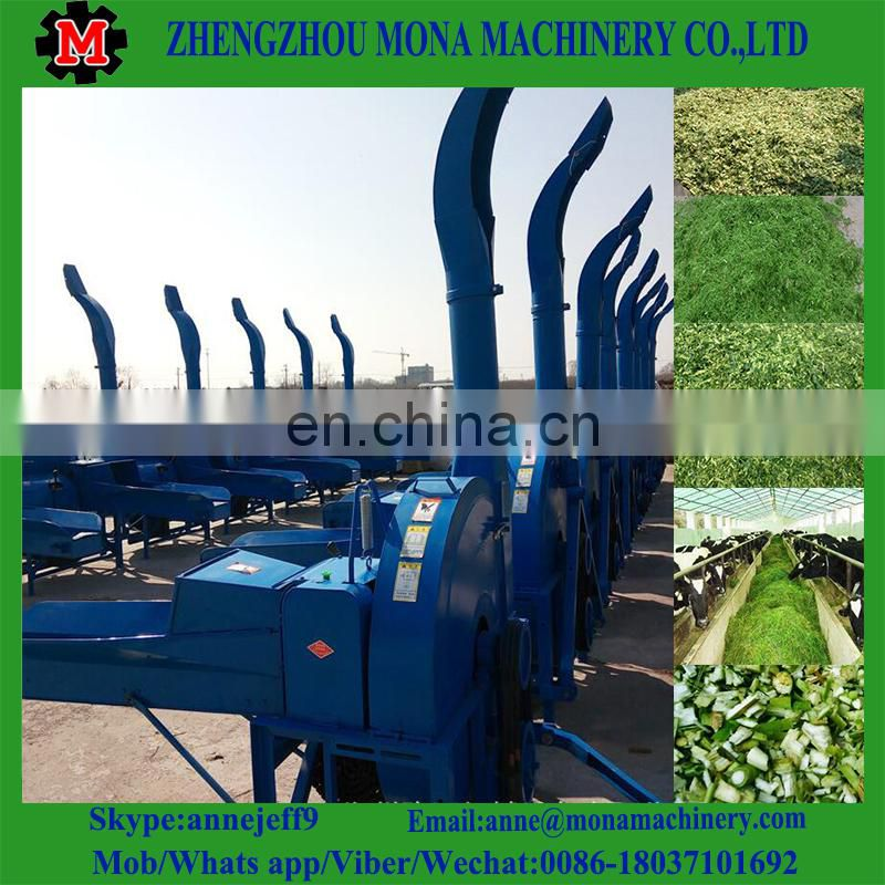 Cow feed grass Straw cutter and grinder machine price Feed chaff cutter Image