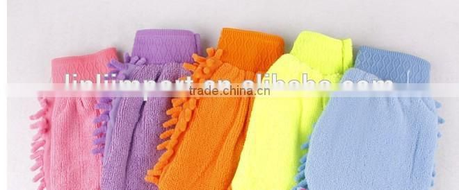microfiber car body cleaning sponge with chenille cloth