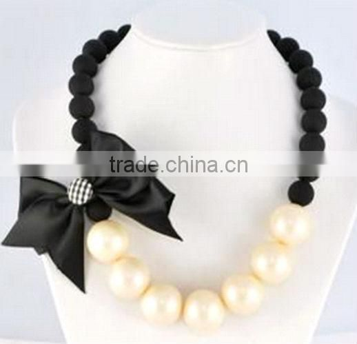2914 newest with acrylic beeds fashion necklace