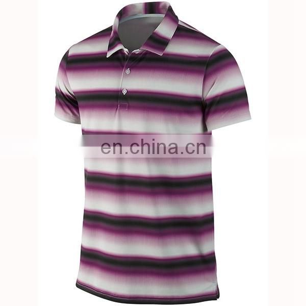 custom high quality sublimation breathable dri fit golf polo/ ladies golf clothing