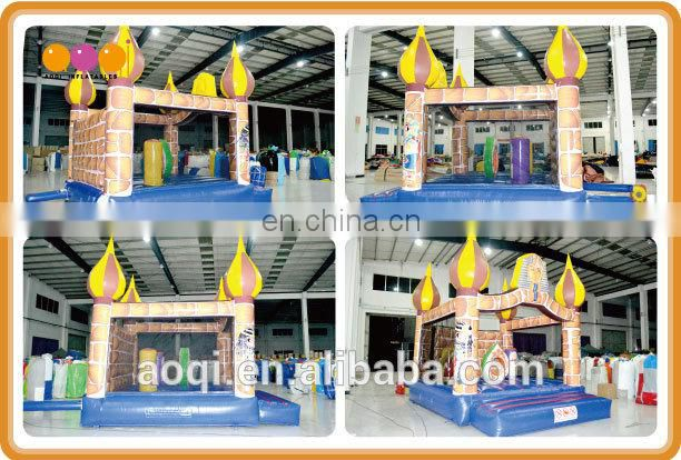 AOQI Egypt Pharaoh inflatable jumping castle with free EN14960 certificate