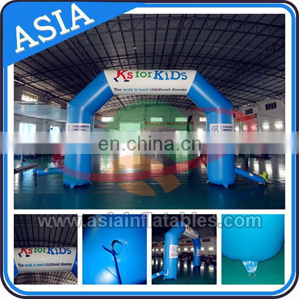 Advertising Promotional Inflatable Arch With Logo Print , Inflatable Archway / Finish Line / Start Entrance For Event