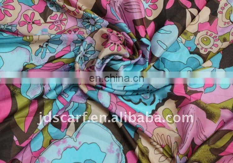 2012 silk printed shawls, new fashionable style for spring and summer. JDY-060 col.A01#