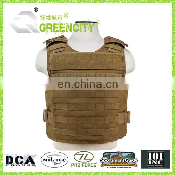 Coyote Tactical Safety Vest with Molle System