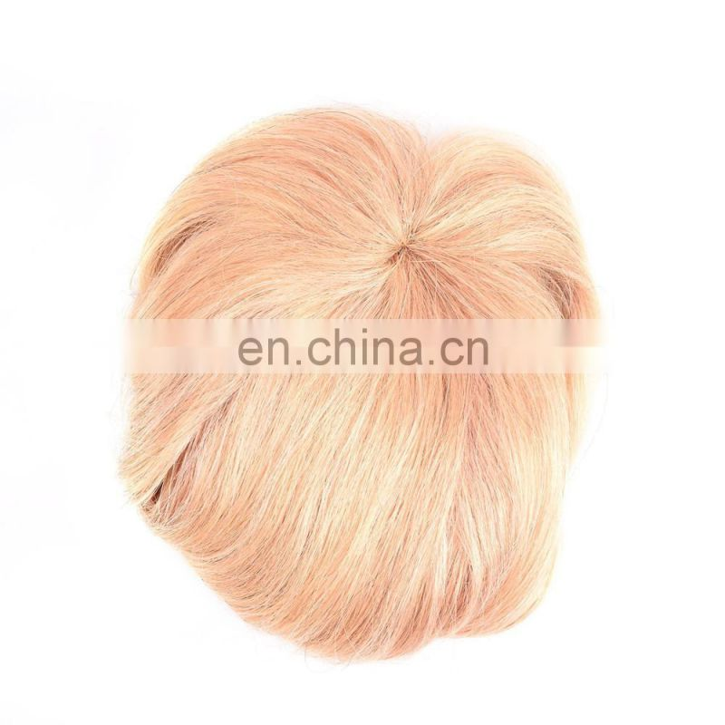 ladystar 100% human hair bang wig, natural wave hair fringe, wholesale chinese bang wigs hair color 27# mix 613#