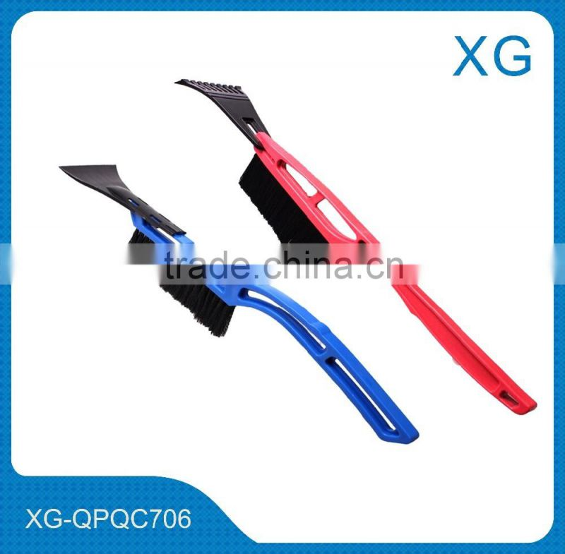 Cheap price plastic car snow shovels brushes/car snow ice scraper/telescopic snow brush