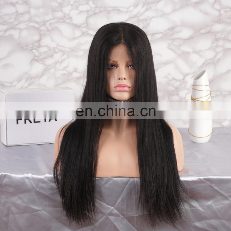 Stock wholesale 100% remy natural real hair wigs