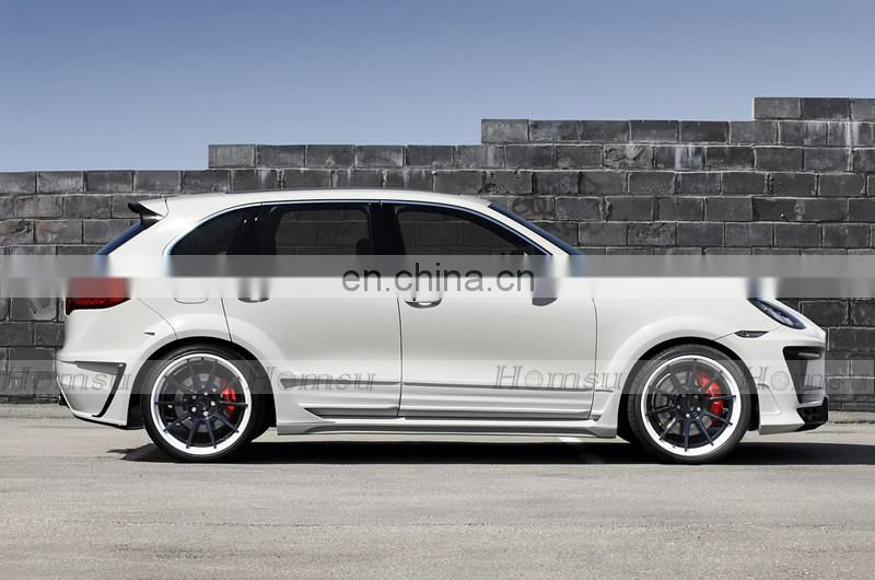 High quality Aero spare Body kit for porsch-e cayenne 958 TURBO wide body LA Style