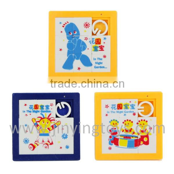Educational plastic toy jigsaw puzzle for children