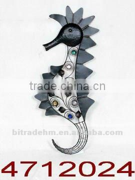 colorful beans metal fish for wall art