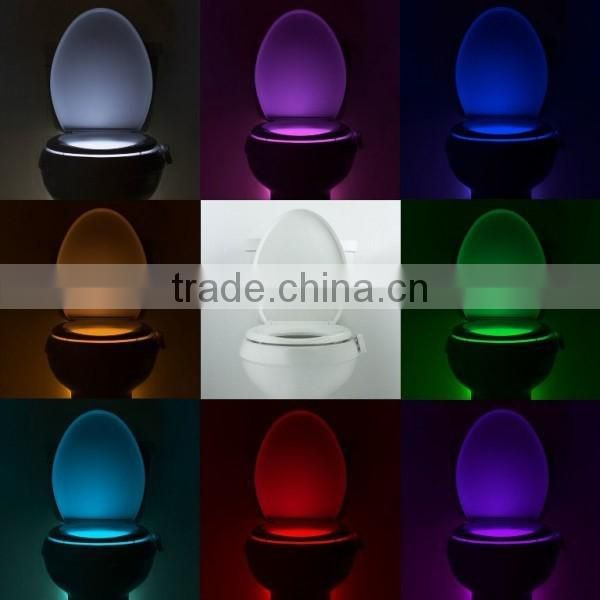 Wholesale Low Price Hot Selling 8 Colors Changing Toilet Light LED Toilet,LED Toilet Bowl