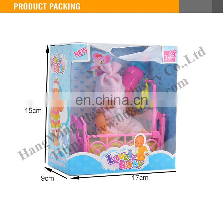 2015 Most Popular 5 inch small plastic doll for sale