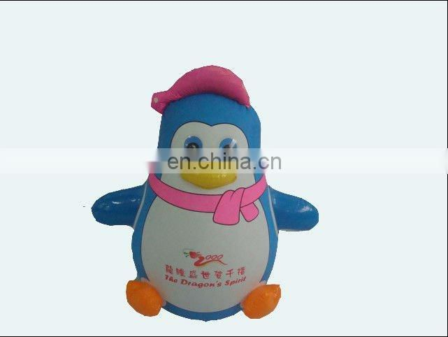 Inflatable cartoon figure tumbler