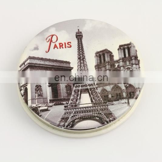 PROMOTIONAL SOUVENIR MAKE UP POCKET COSMETICS FRENCH PARIS MIRRORS