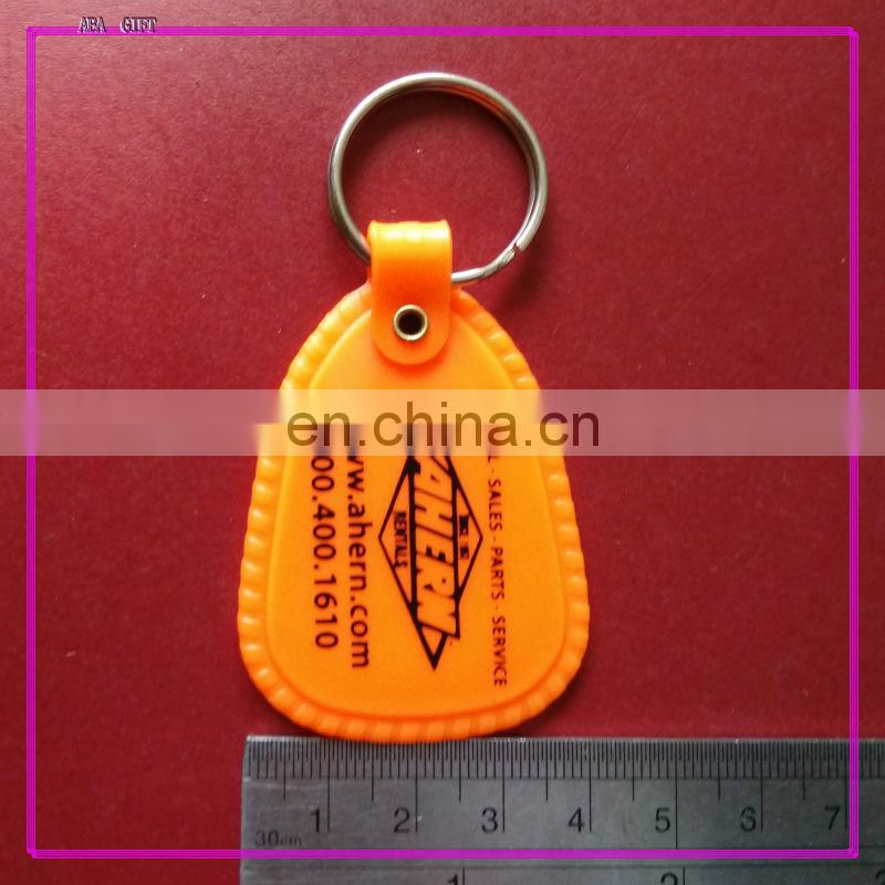 High Quality keychain photo insertable in house shape