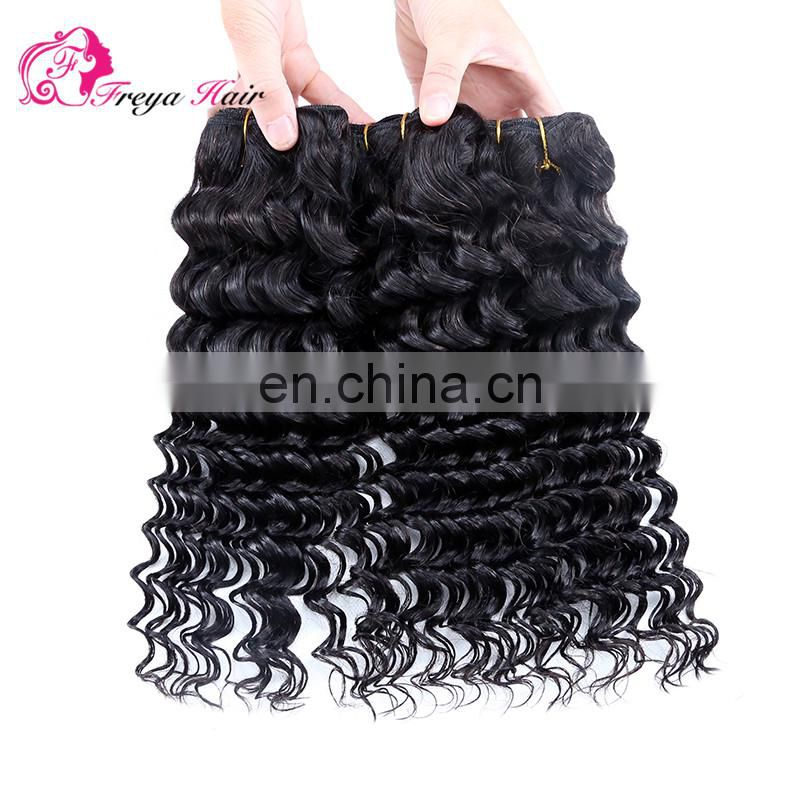 Qingdao Freya hair cheap factory price virgin brazilian hair weaving dubai