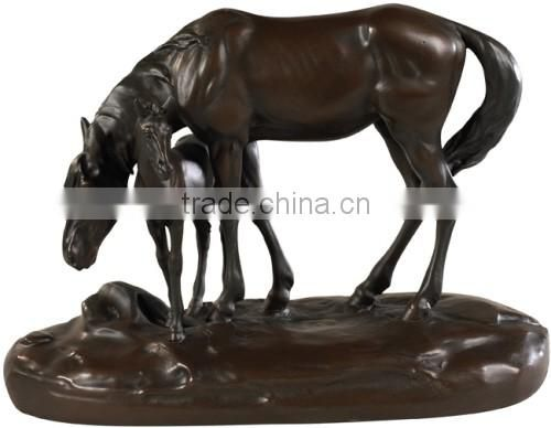 life size metal equine sculpture for sale NTBH-HR037Y
