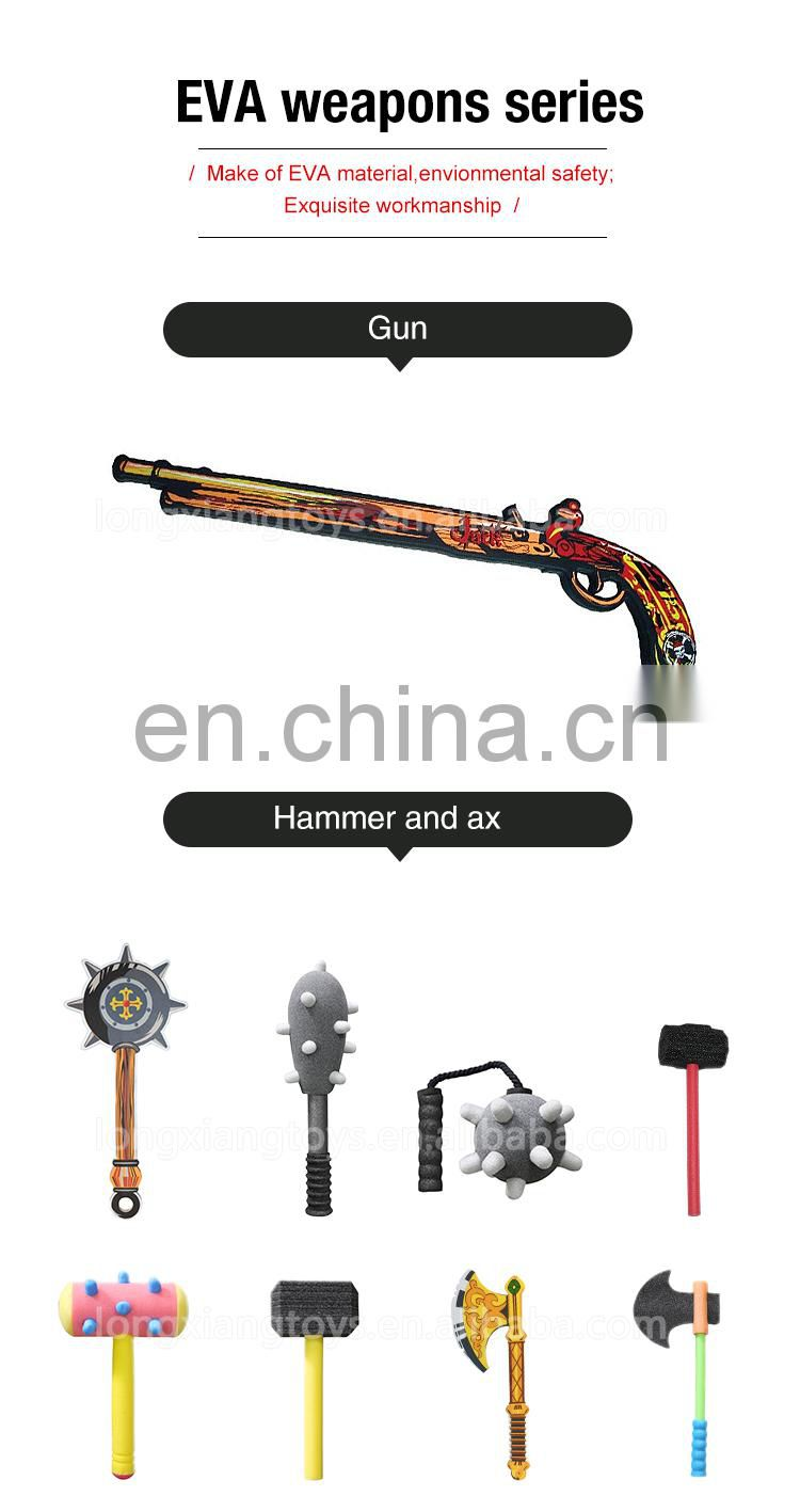 Wholesale weapon toy play foam for Kids