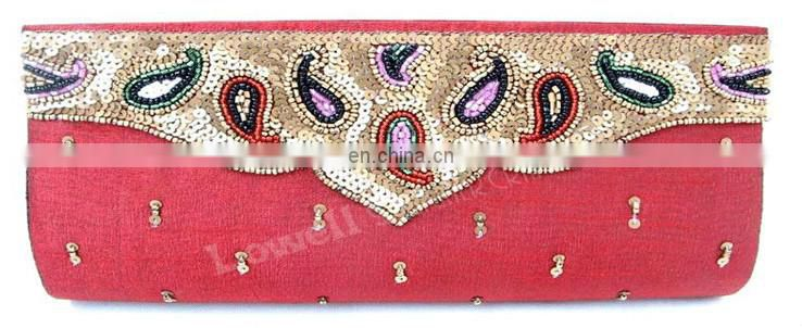 Hand Embroidery designer Clutch Bag
