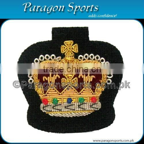 Bullion Handmade Embroidered Cap Badge PS-217