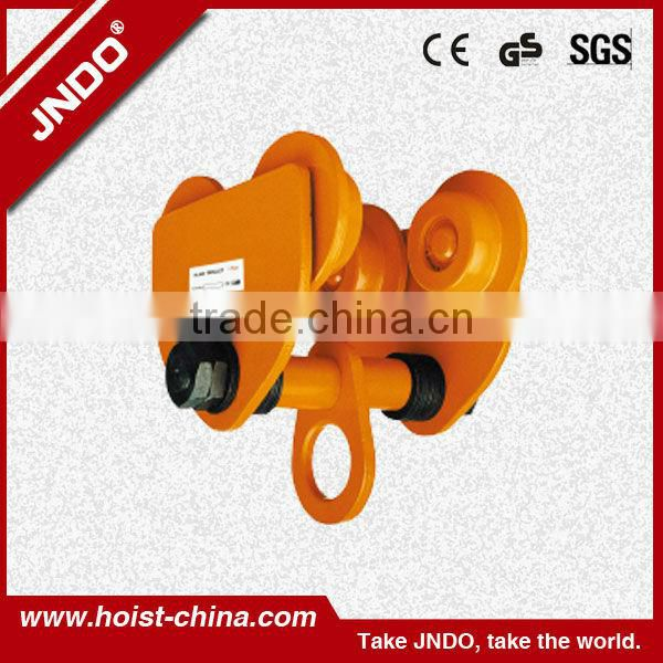 2013 good quality equipment chain block trolley