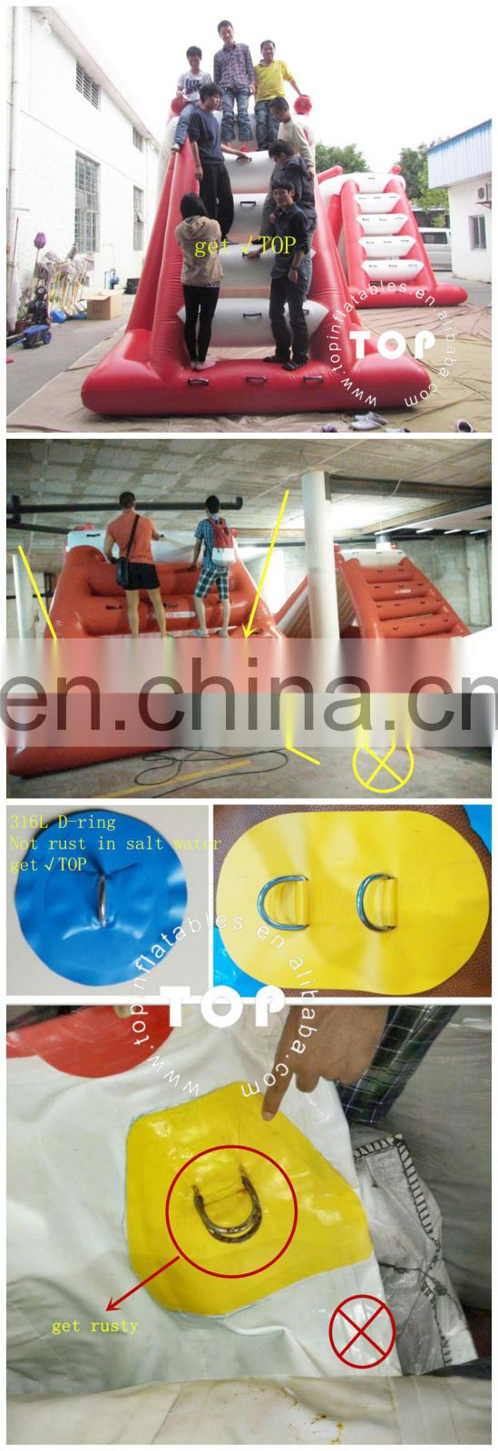 TOP Air tight inflatable football field inflatable football sport arena