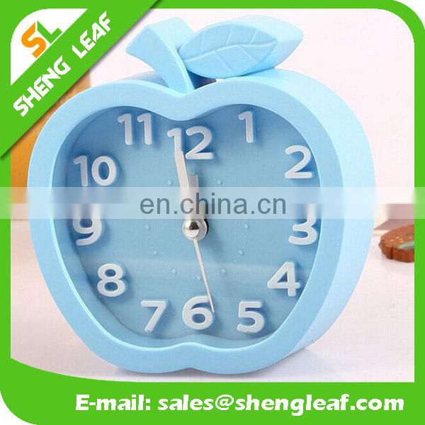 Spot suply silver classical quartz clock Metal bell ring the alarm clock